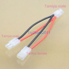 Tamiya Parallel Harness For 2 NiMH Battery In RC Car Boat Connector LiPO Ni-CD