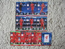 PANINI adrenalyn 2014 CHAMPIONS LEAGUE 2015 liverpool  master, one ,rising