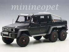 AUTOart 76302 MERCEDES BENZ G63 6X6 1/18 MODEL CAR BLACK