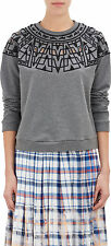 SEA NY CUT OUT EMBROIDERED SWEATSHIRT MEDIUM
