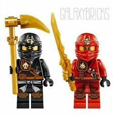 "LEGO® Ninjago Minifigure Lot ""KAI & COLE"" New"