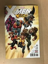 X-MEN GOLD #1 SYAF COVER MARVEL COMICS (2017) STORM COLOSSUS KITTY PRYDE LOGAN