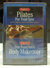 Pilate For total Gym and Dan Issacson's Body Makeover - NEW DVD w/ Free S/H