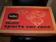 Tudor Tru Action Electric Sports Car Race box only Excellent condition