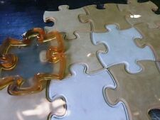 Puzzle Polyurethane Molds for 3D Panels Rubbers Silicone Forms Gypsum Concrete