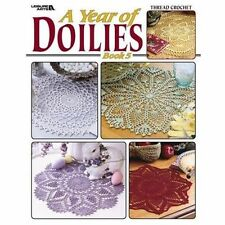 A Year of Doilies (Leisure Arts #3706), Leisure Arts, New Books