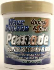 WAVEBUILDER COCOA & SHEA BUTTER POMADE SUPER SMOOTH & RICH  3 OZ.