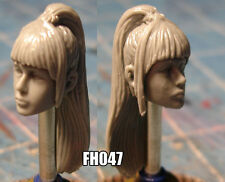 "FH047 Custom Cast Sculpt part Female head cast for use with 3.75"" action figures"