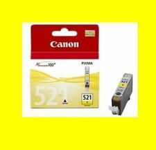 Original Canon PIXMA cli-521 Yellow mp560 mp620 mp630 mp640 mp980 MX 860 nuevo