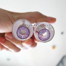 Kitty Kawaii The Secret Violet Color Contact Lenses for Cosplay, Party