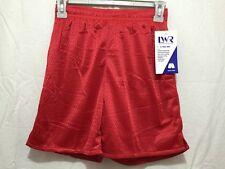 BNWT Girls/Boys Sz 6 LW Reid Hot Red Stretch Mesh Style School Sports Shorts