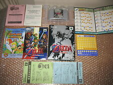ZELDA OCARINA OF TIME NINTENDO 64 JAP IMPORT RARO!