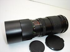 VIVITAR 85-205mm F 3.8 lens, PENTAX M42 screw mount.  SN22310650