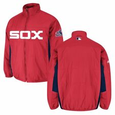2016 MLB Double Climate Quilted Full Zip AUTHENTIC ON-FIELD Jacket MAJESTIC Men