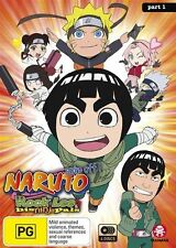 Naruto Spin-Off - Rock Lee And His Ninja Pals (Part 1 Eps 1-26) DVD R4 Brand New