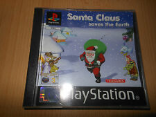 SANTA CLAUS SAVES THE EARTH - SONY PS1 GAME MINT COLLECTORS