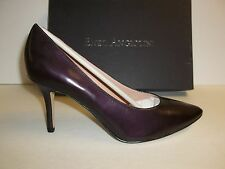 Enzo Angiolini Size 10 Cheylo Wine Leather Pumps Heels New Womens Shoes