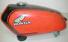 Vintage HONDA 175 Red 1970's Motorcycle Fuel Gas Tank