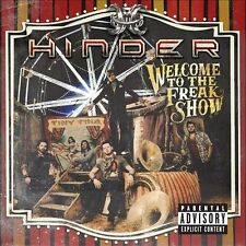 Hinder  - Welcome to the Freakshow [PA](CD, 2012, Republic)