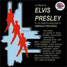 Embassy Records Story Volume 2 Tribute To Elvis Presley CD NEW Sealed