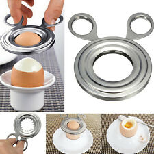 10x8CM Ciseaux Oeuf Shell Cutter Coupe Slicer Acier inoxydable Cuisine Outil NF