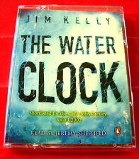 Jim Kelly The Water Clock Philip Dryden 2-Tape Audio Book Jeremy Sheffield Crime