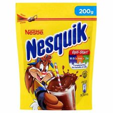NESTLE NESQUIK Plus Instant Cocoa Hot or Cold Drink with Vitamins 200g 7oz