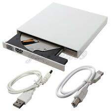 White External DVD Combo CD+RW USB 2.0 Burner Drive CD-RW DVD ROM for PC Laptops