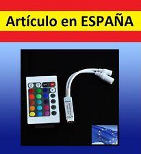 MANDO DISTANCIA IR infrarrojo iluminacion tira LED regulador 12V anodo SMD color