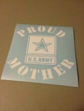 Proud Mother US Army Vinyl Die Cut Decal,car,truck,window,laptop,military,iPad