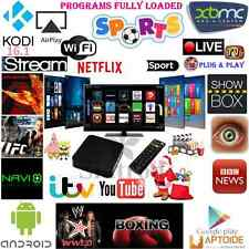 New KODI(XBMC) Quad Core Untethered Android TV Box Fully Loaded replace Apple TV