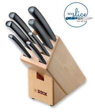 F Dick 8 Piece Pro-Dynamic Knife Block 8.8030.00 - BNIB.