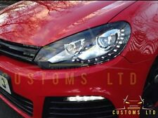 Golf R R20 GTD LED DRL Bi Xenon Headlights GTI TSI MK6 2009+ UK Seller