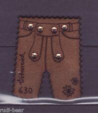 Österreich Nr. 3231  **   Lederhose mit Swarowski Steinen (echtes Leder)