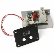 AC 220V 10000W SCR Voltage Regulator Speed Control Dimmer Thermostat LED Display