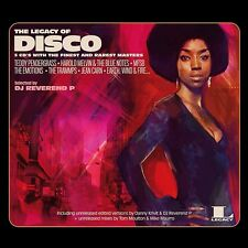 DJ Reverend P - The Legacy Of Disco (Ltd Blue  2LP Vinyl + MP3) Legacy, NEU+OVP!