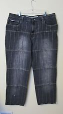 ENYCE MENS JEANS SIZE 42 = ( 39 x 33 )