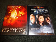 PARTITION & LOST JUNCTION-2 movies-NEVE CAMPBELL, KRISTEN KREUK, BILLY BURKE-DVD