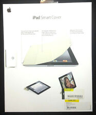 Genuine Apple iPad 2/3/4 Smart Cover MD305Ll/A Genuine Leather Cream Color