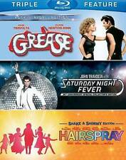 TRIPLE FEATURE BLU-RAY GREASE / SATURDAY NIGHT FEVER / HAIRSPRAY €