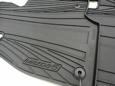 MAZDA 6 SKYACTIV 2014-2016 NEW OEM SET OF ALL WEATHER FLOOR MATS 0000-8B-H70