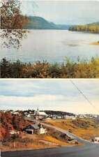 Les Bergeronnes Quebec Canada Scenic View Vintage Postcard J53733