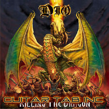 Ronnie James Dio Guitar Tab KILLING THE DRAGON Lessons on Disc Doug Aldrich
