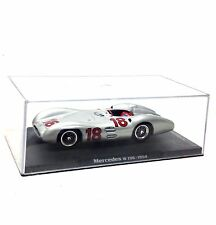 MERCEDES W196 1954 1/43 scale model car in Plastic display case, NICE!