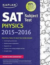 Kaplan SAT Subject Test Physics 2015-2016 by Kaplan (2015, Paperback)