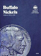 Whitman Buffalo Nickel Coin Folder Album 1913-1938 #9008