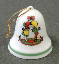 Joan Walsh Anglund A Gift Of Love Christmas 1976 Bell Ornament EUC