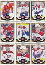 2015-16 O Pee Chee Montreal Canadiens Complete Base Team Set 18 Different Cards