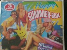 HAPPY SUMMER-BOX (3 CD - 1995) 60 original party hits Tatjana, Baltimora, Racey