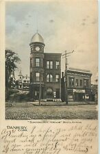 "A View Of The ""Danbury News"" Building, Danbury CT 1905"